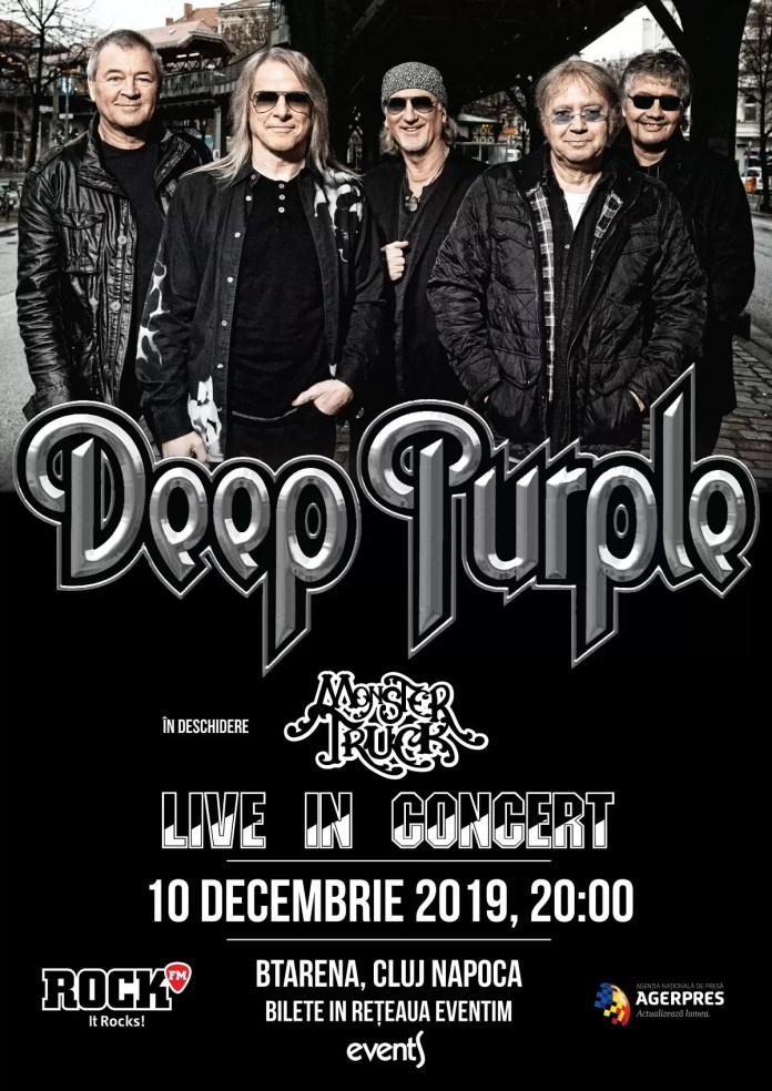 Deep Purple + Monster Truck afiș