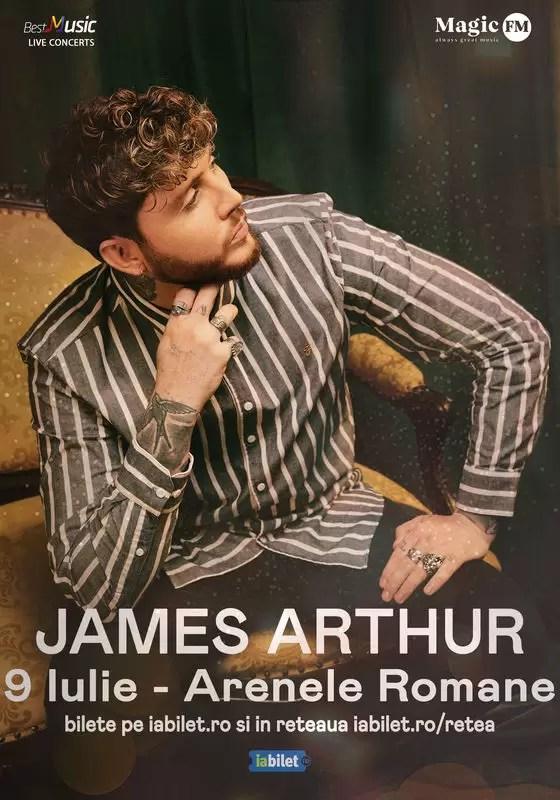 James Arthur afis