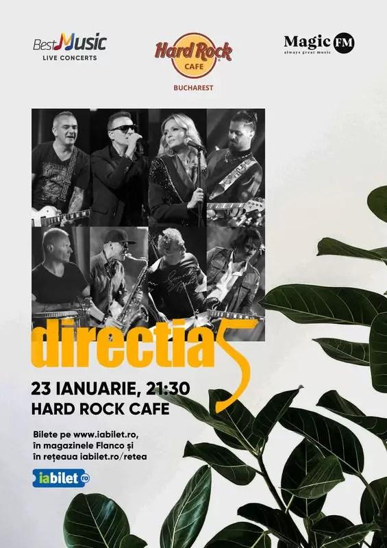 concert, hard rock cafe, directia 5