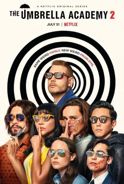 The umbrella academy, sezonul 2 , Netflix, 31 iulie