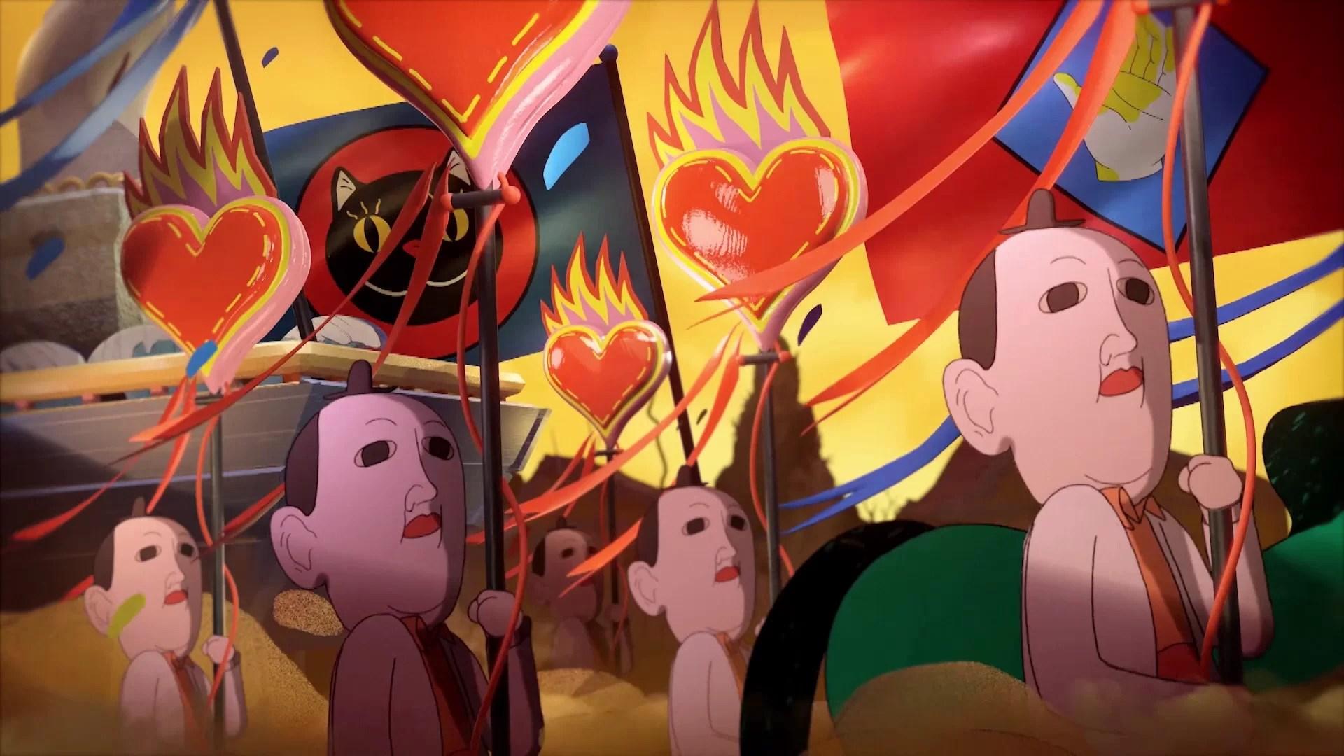 The Cutie Patootie - Creepy Animation Night, filme animate afiș