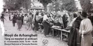 Moșii de Arhangheli - târg cu meșteri și anticari afiș