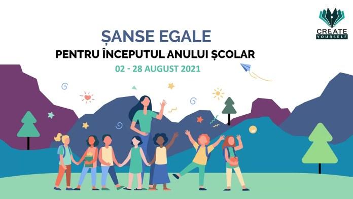 Campania umanitară Șanse egale pentru începutul anului școlar