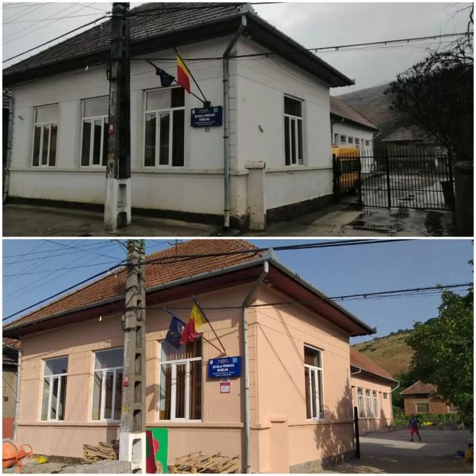 şcoli renovate județul Hunedoara
