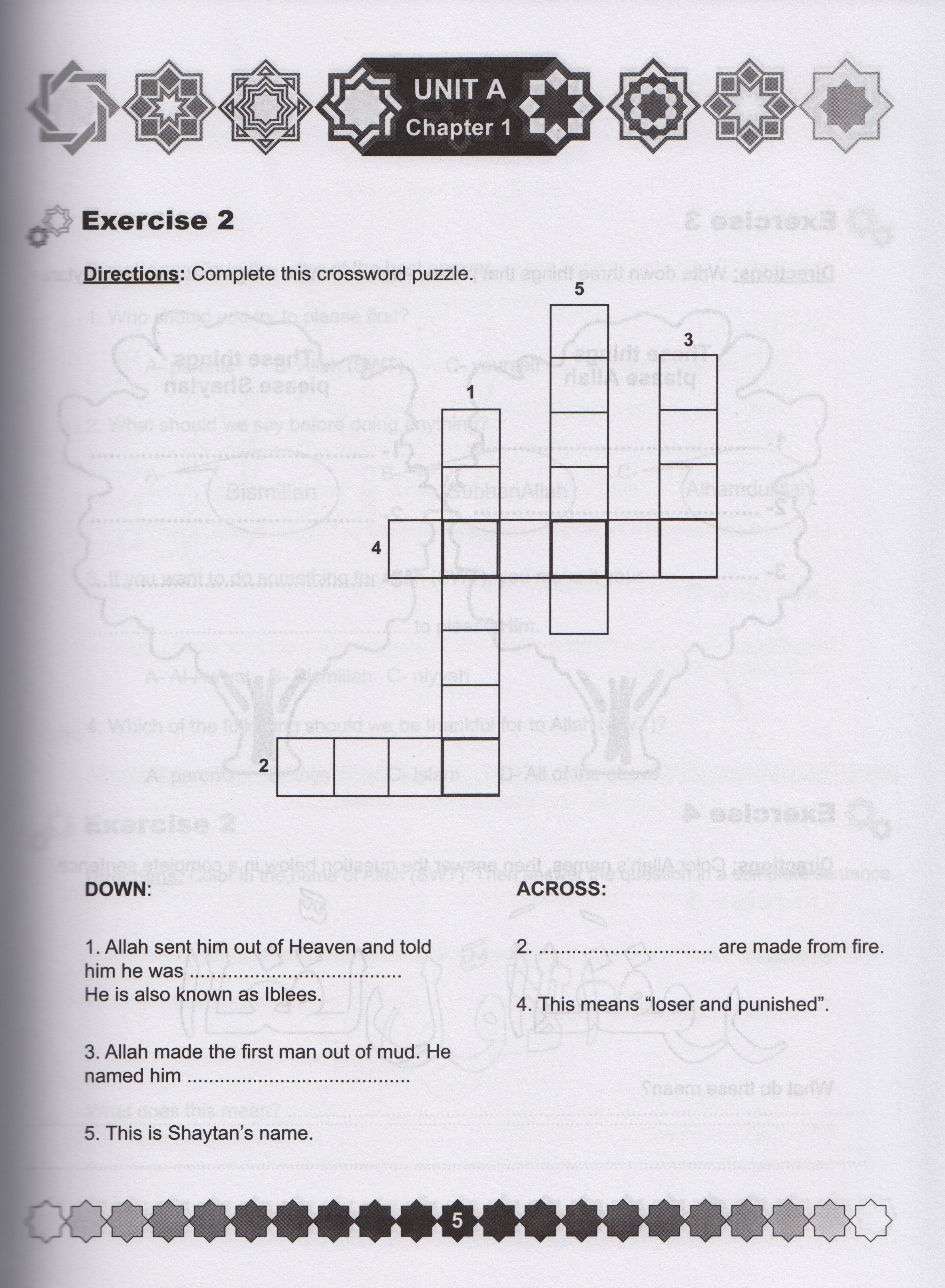 I Love Islam Level 2 Workbook