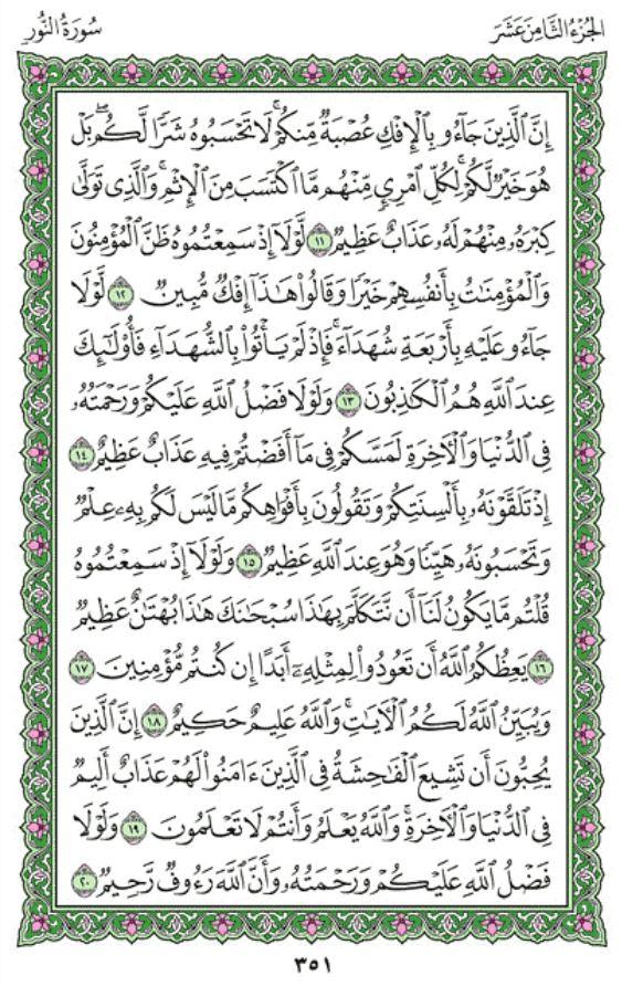 Quran Recitation Of Surah An Nur By Sheikh Maher Al