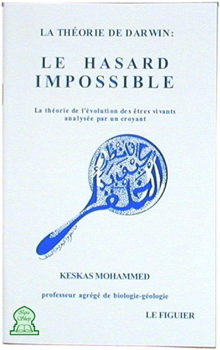 """Résultat de recherche d'images pour """"LA THÉORIE DE DARWIN: LE HASARD IMPOSSIBLE"""""""