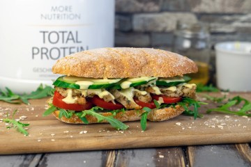 Chicken Teriyaki Sub | Protein Sandwich