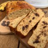 Chocolate Chip Bananabread | Protein Bananenkuchen