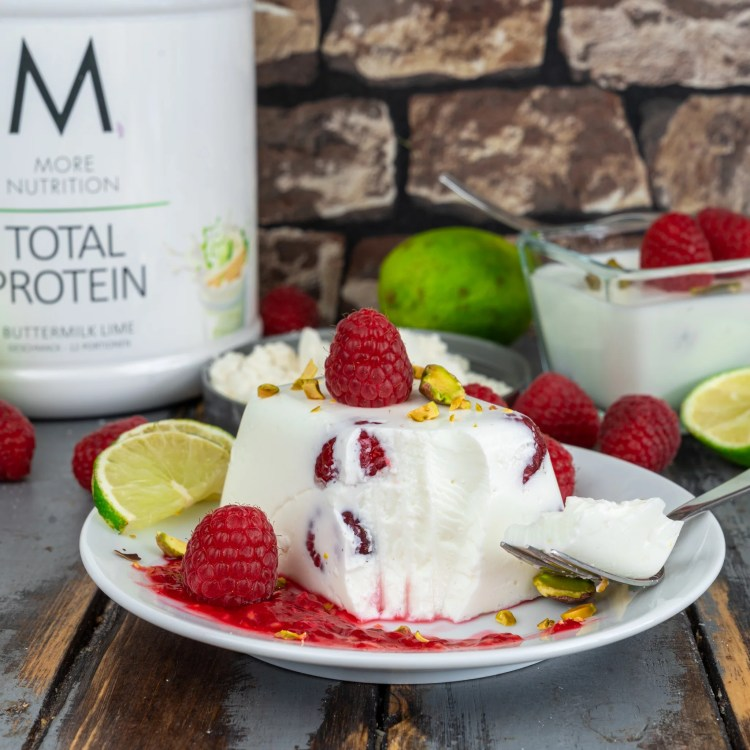 Buttermilk Lime Panna Cotta