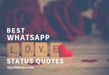 best whatsapp love status quotes - whatsapp status love qutoes