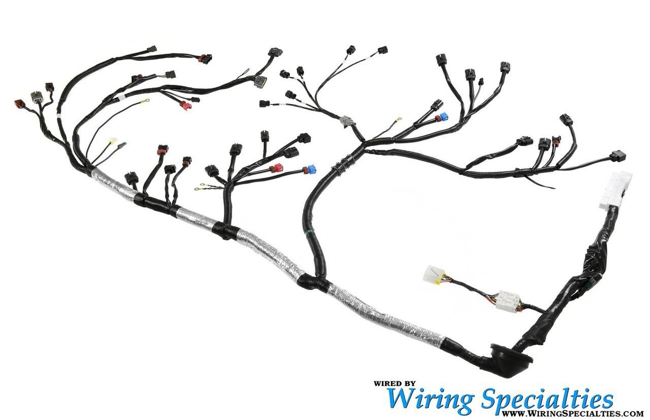 Wiring Specialties 2jzgte Vvti 240sx S13 Wiring Harness