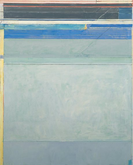 Richard Diebenkorn - Ocean Park No. 125