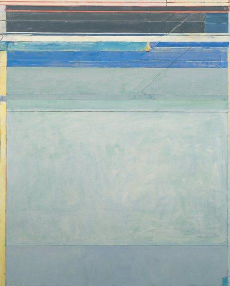 Richard Diebenkorn - Ocean Park No. 125