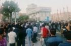 Iran: Människor i västra provinser fortsätter Protester mot dödande av bärare