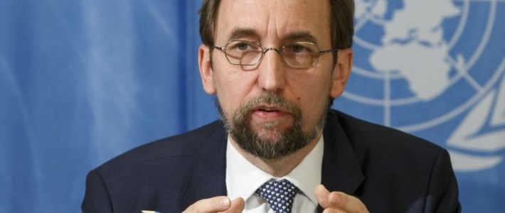 High Commissioner's global update of human rights concerns