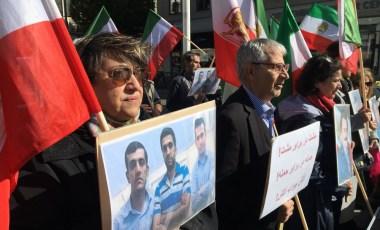 Manifestation i Göteborg fördömer avrättningen av tre kurdiska aktivister i Iran