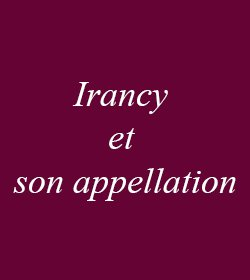 Irancy et son appellation