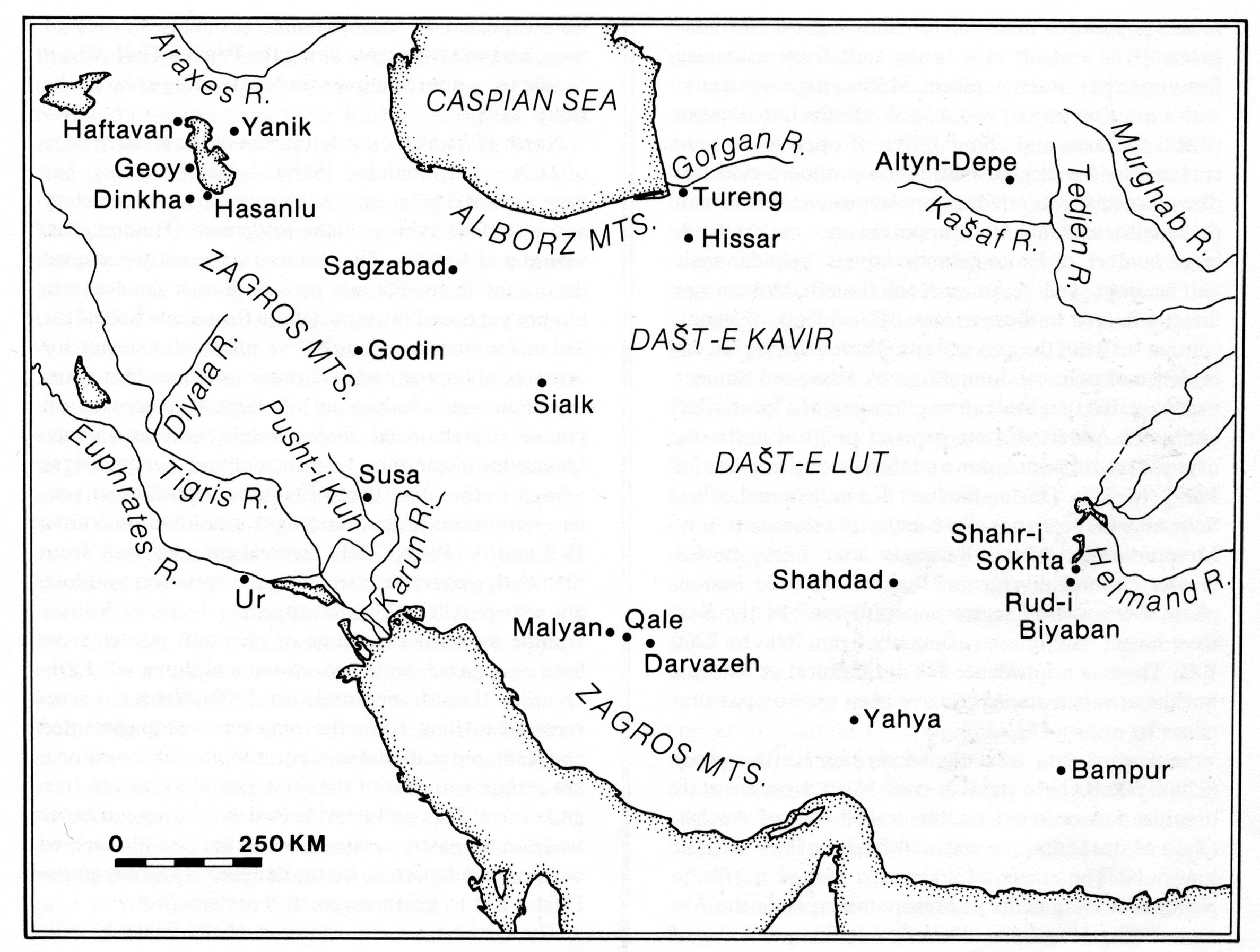 Blank Map Of Ancient Mesopotamia
