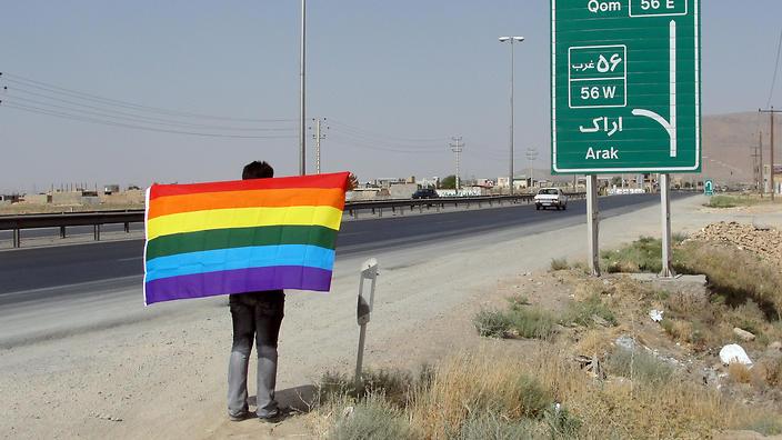 IranPride day - Arak, Iran