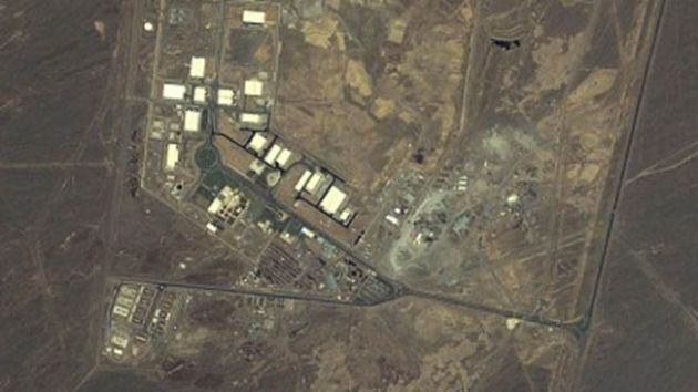 An aerial view of Iran's nuclear facility in Natanz/AP
