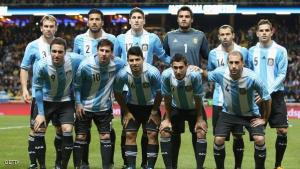 STOCKHOLM, SWEDEN - FEBRUARY 06:  The  Argentinian team pose during the International Friendly match between Sweden and Argentina at the Friends Arena on February 6, 2013 in Stockholm, Sweden.  (Photo by Jamie McDonald/Getty Images)