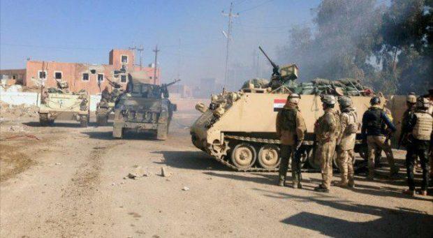 العراق يعلن قتل العشرات من داعش واستعادة السجارية بالكامل
