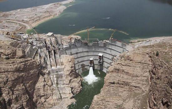 افتتاح رابع أكبر سد بإيران في محافظة ايلام الفيلية