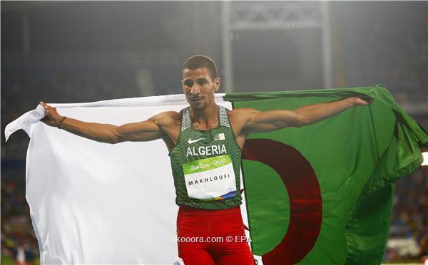 الجزائري مخلوفي يرد على المشككين بفضية 800 متر