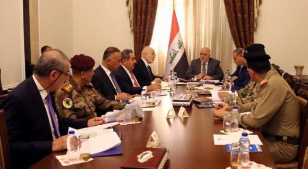 العبادي يناقش مع المجلس الوزاري للامن شبكة مشروع تكامل العدالة الجنائية (ICJN)
