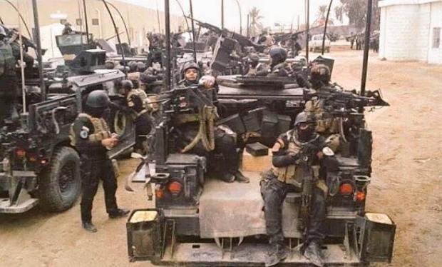انطلاق عملية اقتحام مركز ناحية القيارة جنوب الموصل