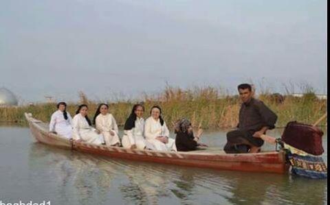 راهبات في الاهوار