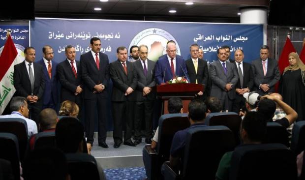 كتلة تحالف القوى :الجبوري لا يحتاج دعما سياسيا من إيران