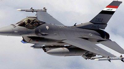 القوة الجوية العراقية تقتل{17} إرهابيا ويدمر{12} عجلة في جزيرة الرمادي