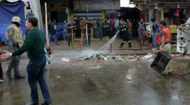 تفجيران يضربان بغداد