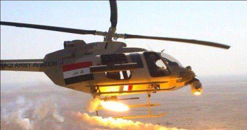 طيران الجيش : يقتل 20 ارهابياً في صلاح الدين