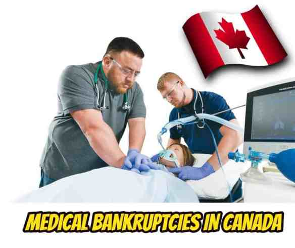 universal health care medical bankruptcies in canada Ira Smith Trustee health crisis financial hardship financial crisis emergency savings avoid personal financial crisis