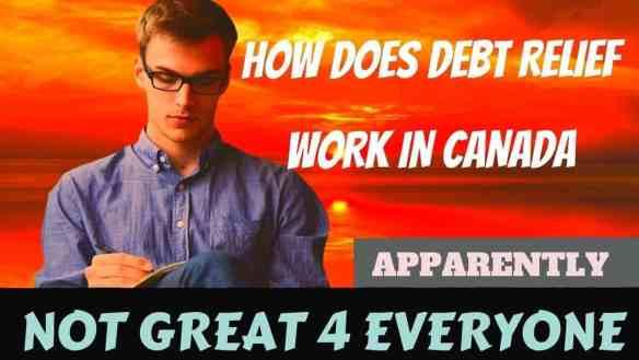 how does debt relief work