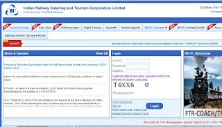 Online ticket booking