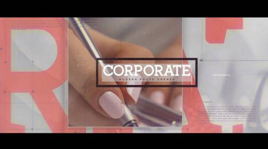 corporate presentaion-adobe-after-effects-template