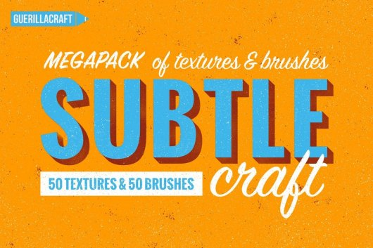 Subtlecraft - Textures and 50 Brushes