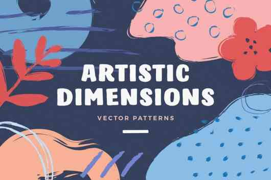Artistic Dimension Abstract Patterns