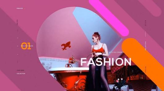 bright colorful fashion-adobe-after-effects-template