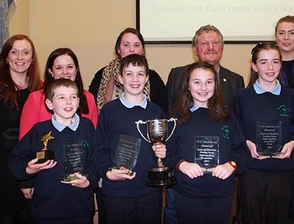 Winners St. Brendan's N.S Rathcoole