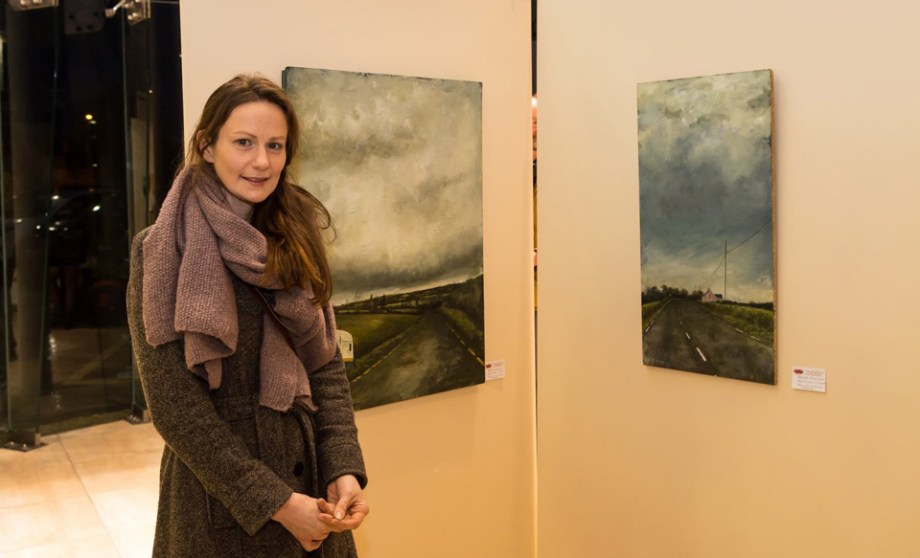 Elayne O'Connor featured artist exhibition photo by Jim McSweeney