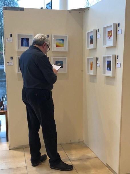 Featured artist exhibition