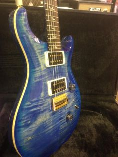 Safely Buy Guitars Online - 2012 PRS Custom 24 Faded Blue Burst - I Really Like Guitars