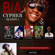 B/A Cypher : Tha Blackboi X Hotpears X Ajoa X CafiDoma X Bawsnic X Tee Black (Prod Rhythm King)