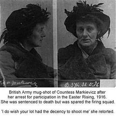 Image result for Countess Markievicz images