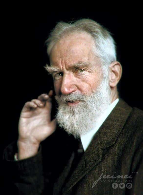 Resultado de imagen para Fotos de George Bernard Shaw